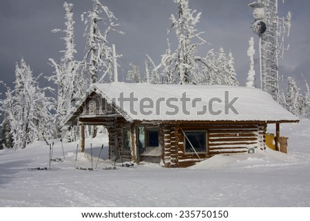 Brundage Mountain Ski Resort - stock photo