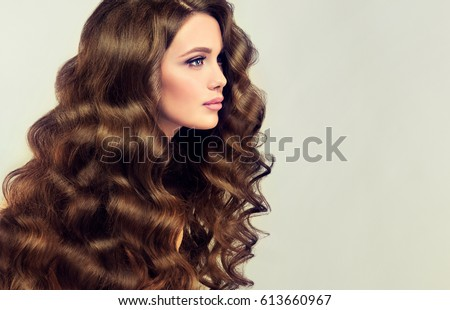 Long Hair Model Stock Images Royalty Free Images