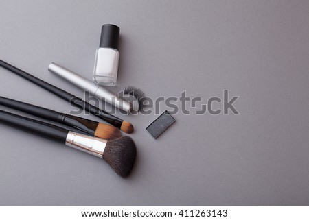 Brush for a make-up.