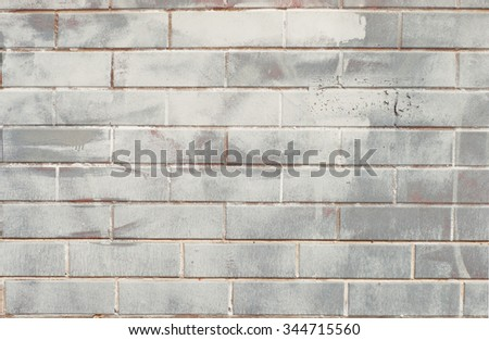 Brush painted brick tile background.