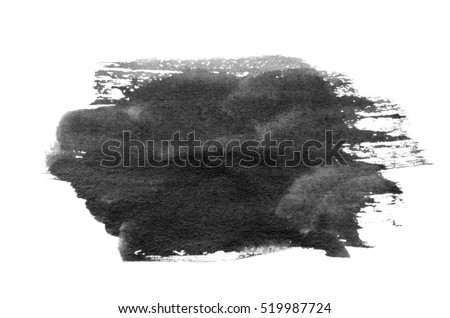 Brush stroke isolated on background