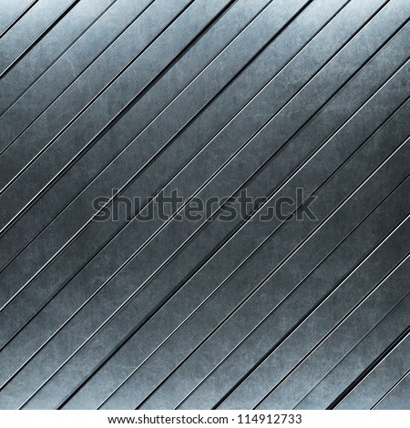 brushed metal background with stripes