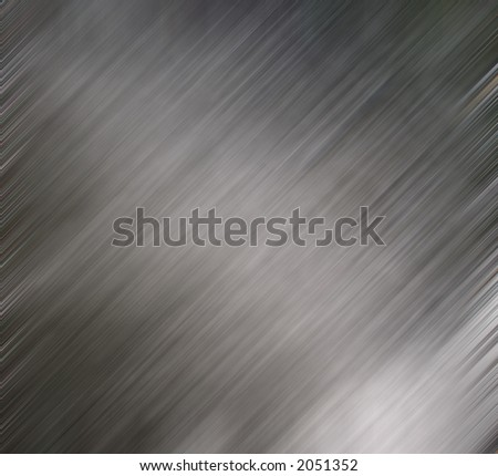 Brushed metal effect for backgrounds or wallpaper. . - stock photo