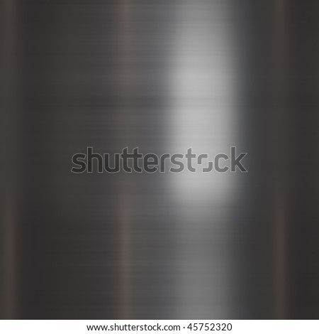 Brushed metal. Seamless texture. - stock photo