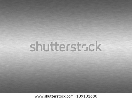 brushed metal structure - stock photo