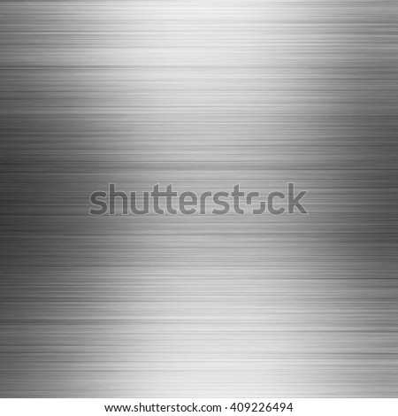 Brushed metal texture, abstract background - stock photo