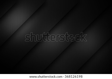 Brushed metal texture dark background - stock photo