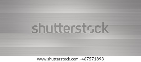 Brushed metal texture large banner, gray neutral background