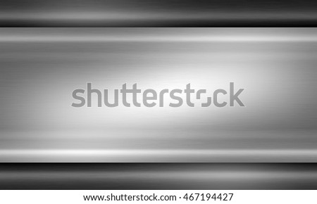 Brushed metal texture neutral background, flat surface for industrial design