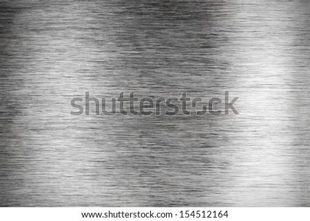 Brushed  metallic surface  - stock photo