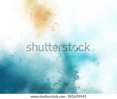Brushed painted background