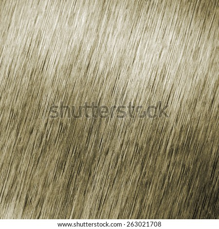 Brushed silver metallic surface, background view from top - stock photo