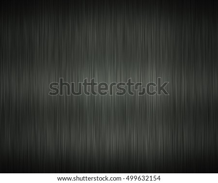 Brushed steel abstract rendered grey or gray background