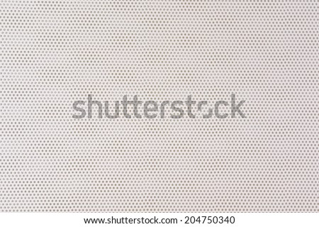 Brushed steel grill drilled with holes. white color - stock photo
