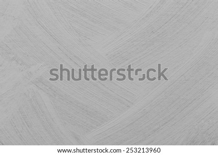 Brushed white paint texture - dirty background - stock photo