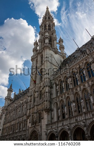 Brussels Town Hall on Grand Place