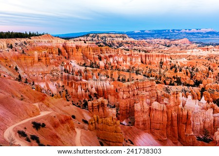 Bryce Amphitheater, Bryce Canyon National Park, Utah, USA