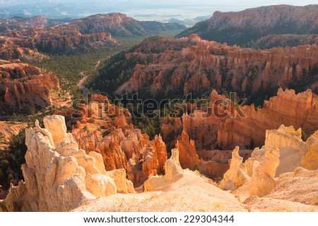 Bryce Canyon National Park, Utah, USA - stock photo