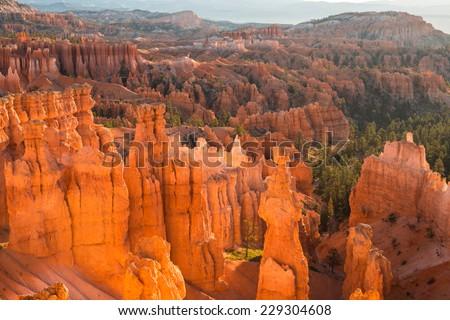 Bryce Canyon National Park, Utah, USA - stock photo
