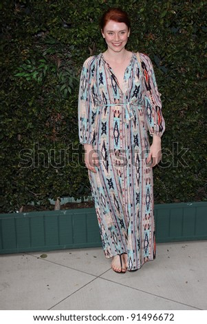 Bryce Dallas Howard at a Benefit Dinner For The Natural Resources Defense Council's Ocean Initiative hosted by Chanel, Privaye Location, Malibu, CA. 06-04-11 - stock photo