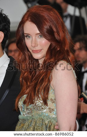 "Bryce Dallas Howard at the premiere of her new movie ""Restless"" in competition at the 64th Festival de Cannes. May 12, 2011  Cannes, France Picture: Paul Smith / Featureflash"
