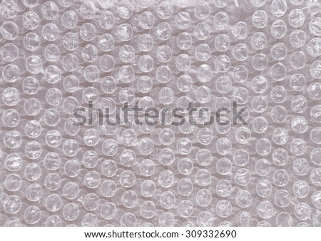 Bubble bursting polyethylene safety cellophane for packing