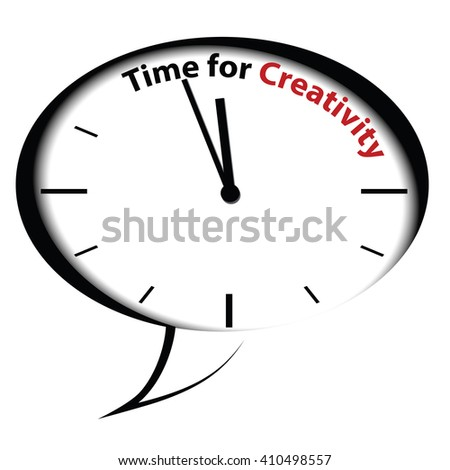 Bubble clock Time for Creativity