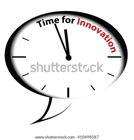 Bubble clock Time for innovation