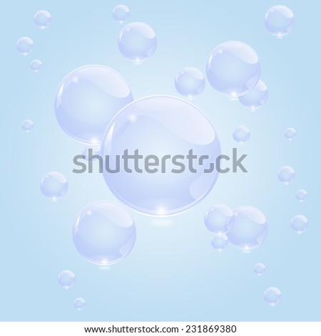 bubbles of soap background