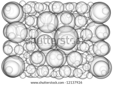 bubbles pattern