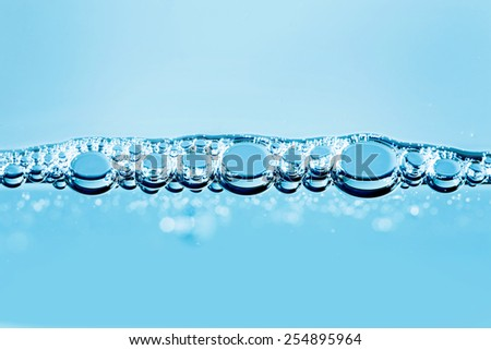 BUBBLING WATER BACKGROUND