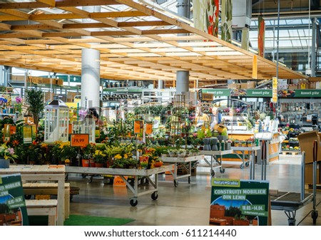 Diy market stock images royalty free images vectors shutterstock bucharest romania apr 1 2016 two senior men buying flowers for garden solutioingenieria Image collections