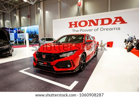 MARCH 31, 2018: Honda Civic Type R Sportive Hatchback