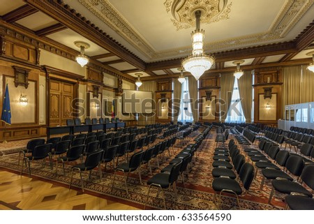 Government Hall Interior Parliament Stock Images RoyaltyFree