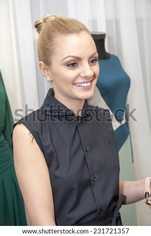 Alexandra stan stock images royalty free images vectors bucharest romania nov 19 2014 alexandra stan arrives at the opening of altavistaventures Choice Image