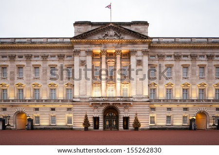 Buckingham palace - stock photo