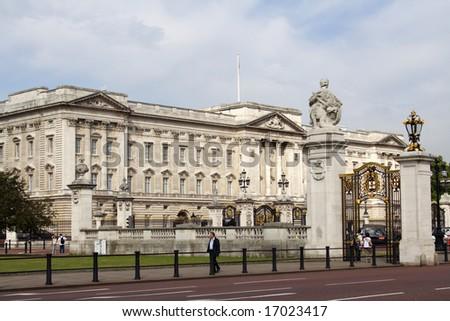 Buckingham palace, London - stock photo
