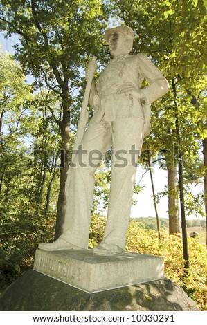 bucktails gettysburg monument - stock photo