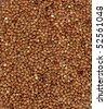 buckwheat texture - stock photo
