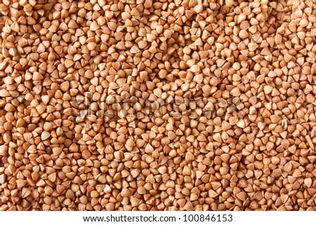 Buckwheat Texture, Background