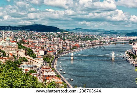 Budapest cityscape. Hungary   - stock photo