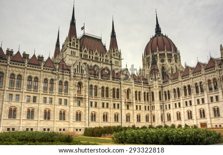 Budapest Parliament - stock photo
