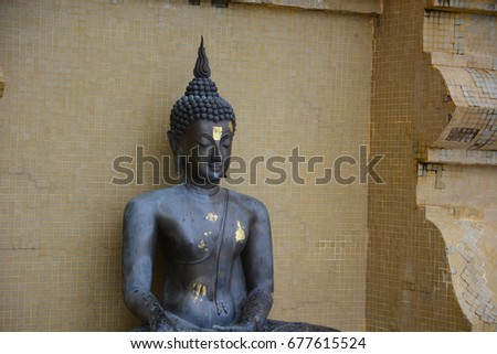 Buddha Ancient thai statue