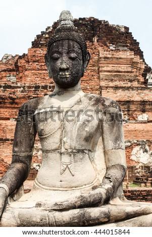 buddha buddhism - stock photo