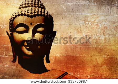 Buddha painting stock images royalty free images vectors buddha face background sciox Image collections