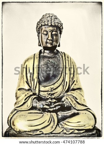 Buddha in deep meditation