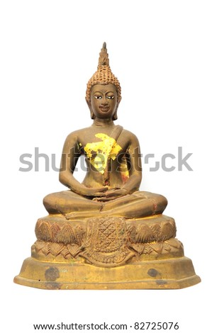 Buddha isolated on white background