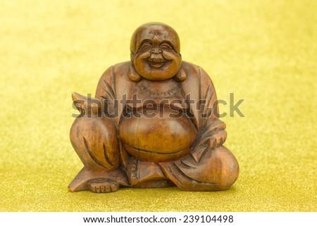 Buddha meditation - stock photo