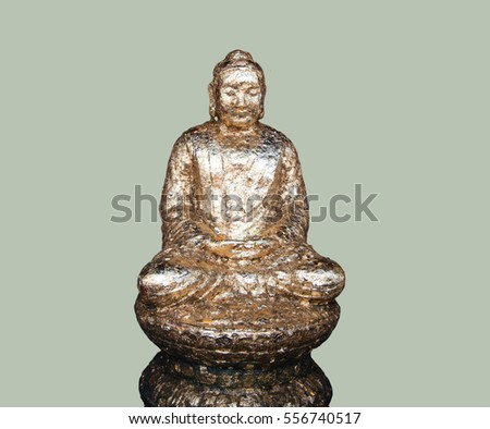 Buddha On a white background With splitters
