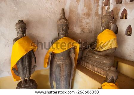 Buddha Statue . - stock photo